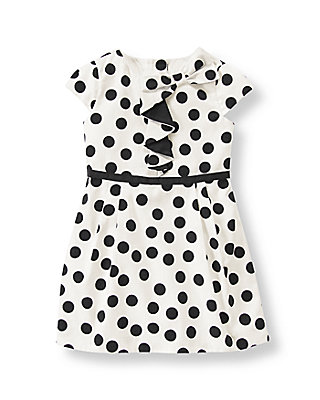 Black Polka Dots Polka Dot Dress at JanieandJack
