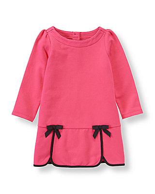 Haute Pink Ribbon Trim Dress at JanieandJack
