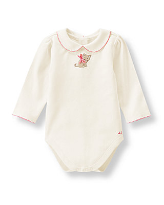 Ivory Kitty Bodysuit at JanieandJack