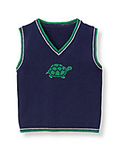 Turtle Sweater Vest