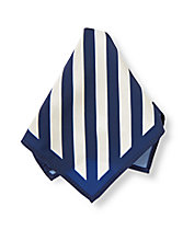 Striped Pocket Square