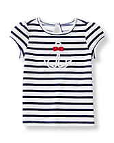 Anchor Striped Tee