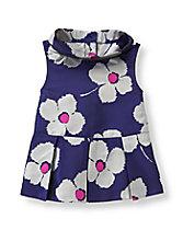Blossom Print Peplum Top