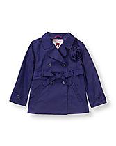 Rosette Trench Coat