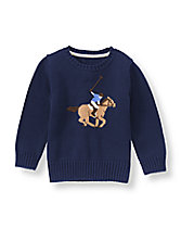 Polo Player Sweater