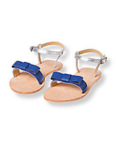 Bow Colorblock Sandal