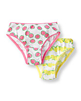 Lemon Print Underwear Two-Pack