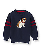 Bulldog Rugby Stripe Sweater