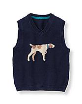 Hound Sweater Vest
