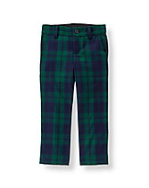 Plaid Suit Trouser