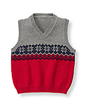 Snowflake Sweater Vest
