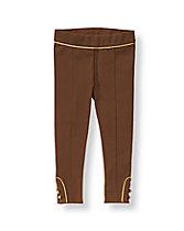 Metallic Piped Pant