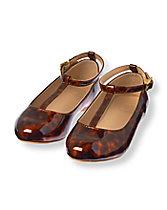 Patent Leopard Ballet Flat
