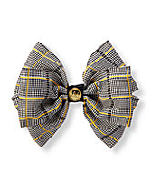 Plaid Bow Clip