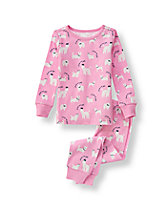 Pretty Puppy Pajama Set