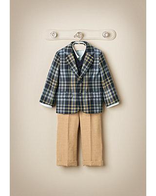 Glen Plaid Elegance Outfit by JanieandJack