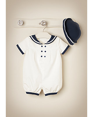 Sweet Nautical Outfit by JanieandJack