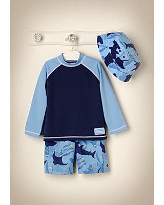 Blue Ocean Outfit by JanieandJack