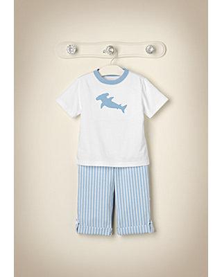 Shark Style Outfit by JanieandJack