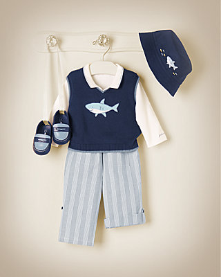 Little Shark Outfit by JanieandJack
