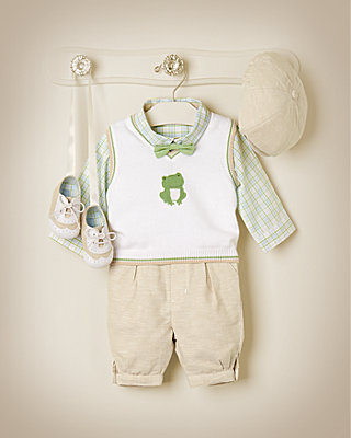 Dapper Frog Outfit by JanieandJack