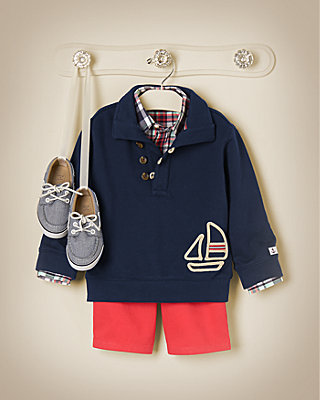 Sailboat Captain Outfit by JanieandJack