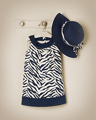 Zebra Chic Outfit by JanieandJack