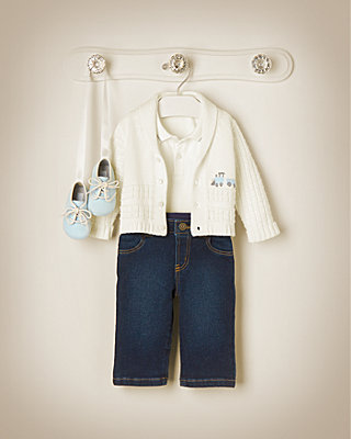 All Aboard Outfit by JanieandJack