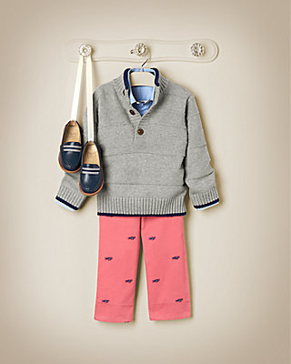 Jet-Set Preppy Outfit by JanieandJack