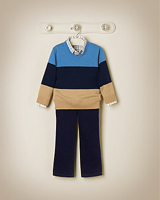 Colorblock Classic Outfit by JanieandJack
