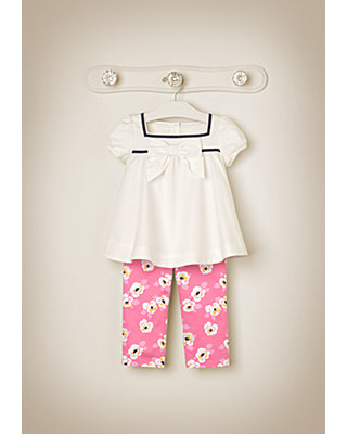 Floral Afternoon Outfit by JanieandJack