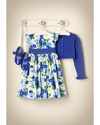 Spring Garden Outfit by JanieandJack