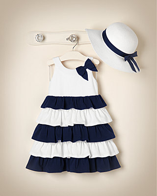 Navy Nautical Outfit by JanieandJack