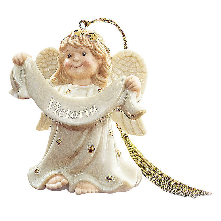 Ivory China An Angel All My Own Personalized Ornament by Lenox, Miniatures and Figurines Angels by Lenox