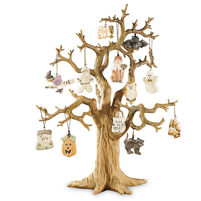 Porcelain Trick or Treat Tree by Lenox, Gifts by Occasion Halloween by Lenox