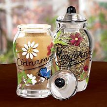 Lenox :: Butterflies & Blossoms Spice Jars