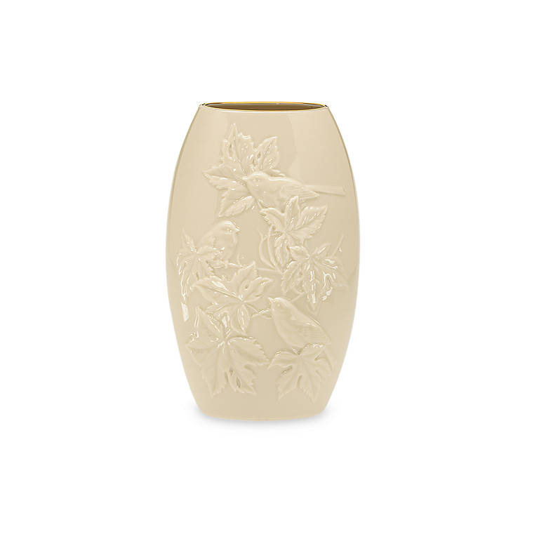 Ivory China Lenox Legacy Edition Four Seasons Fall Vase, Home Decorating Vases by Lenox