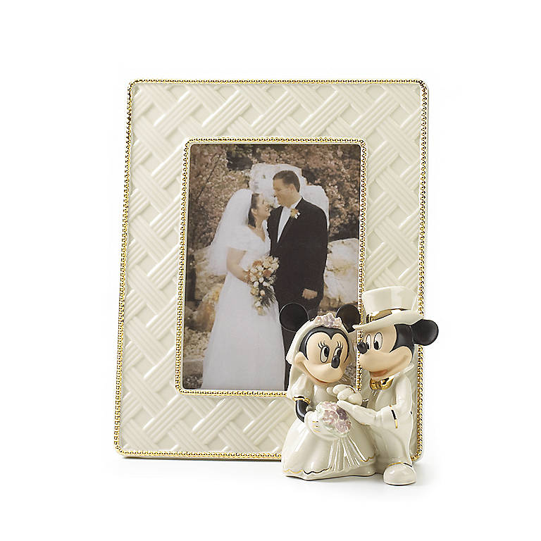 Ivory China Minnie's Dream Wedding Frame by Lenox, Home Decorating Picture Frames by Lenox