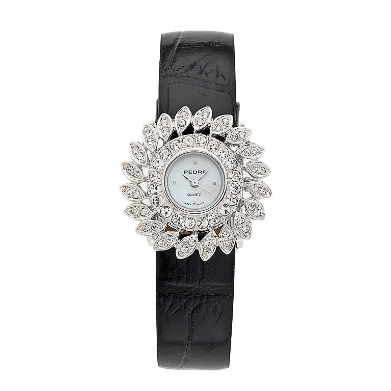 Leather Sunburst Watch, Women's Watches by Lenox