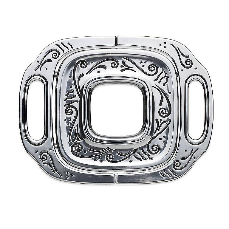 Alternative Metal Lenox Contemporary Expandable Trivet, Dinnerware Accessories Trivets by Lenox