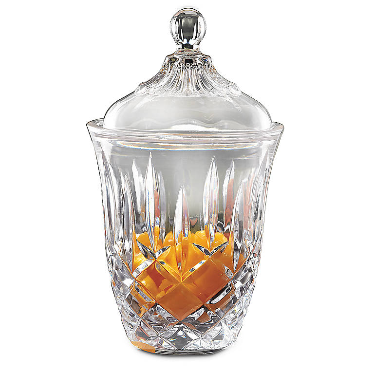 Crystal Lady Anne Covered Jar by Gorham, Home Decorating by Lenox