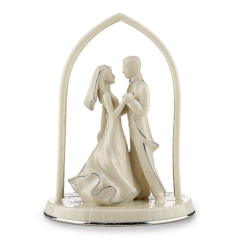 Porcelain Opal Innocence Forever Yours Bride & Groom by Lenox, Gifts by Occasion by Lenox