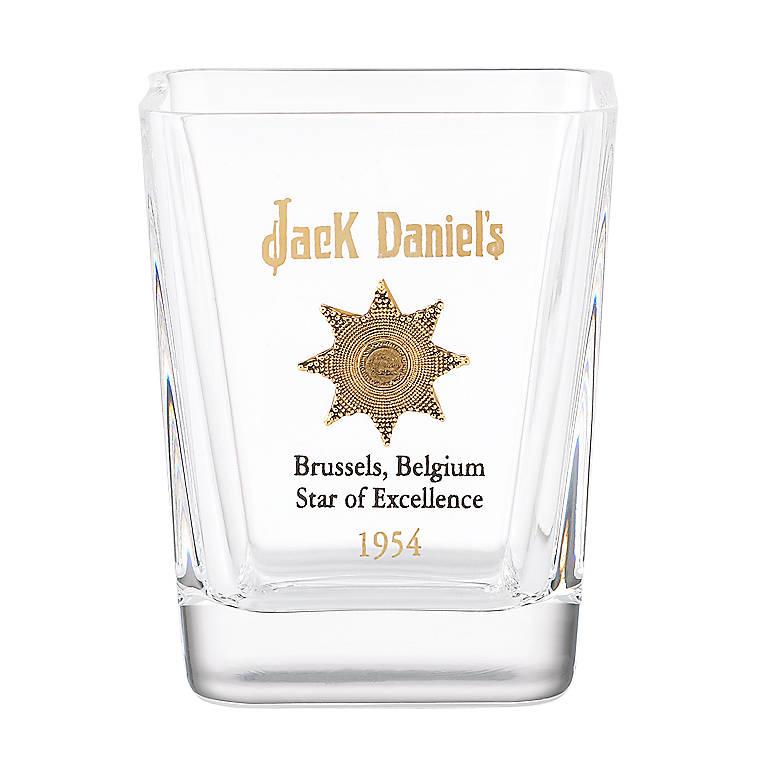 Crystal 1954 Gold Medal Shot Glass by Jack Daniel's, Dinnerware Tableware Barware by Lenox
