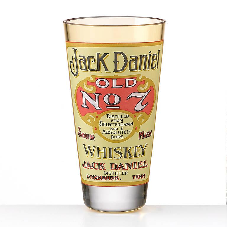 Glass Old No. 7 Black Label Shot Glass by Jack Daniel's, Dinnerware Tableware Barware by Lenox