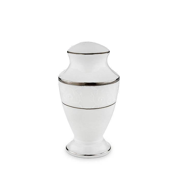 Bone China Lenox Opal Innocence Salt Shaker, Dinnerware Serving Pieces by Lenox