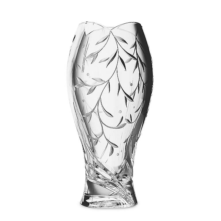 Crystal Lenox Opal Innocence Crystal Vase, Home Decorating Vases by Lenox