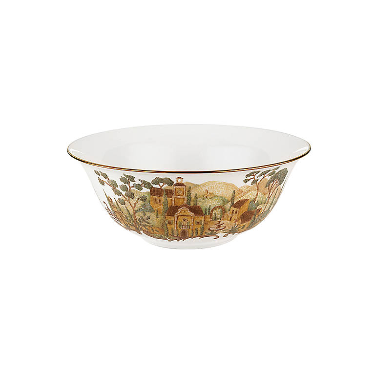 Bone China Lenox Mosaico D'Italia Serving Bowl, Dinnerware Serving Pieces by Lenox