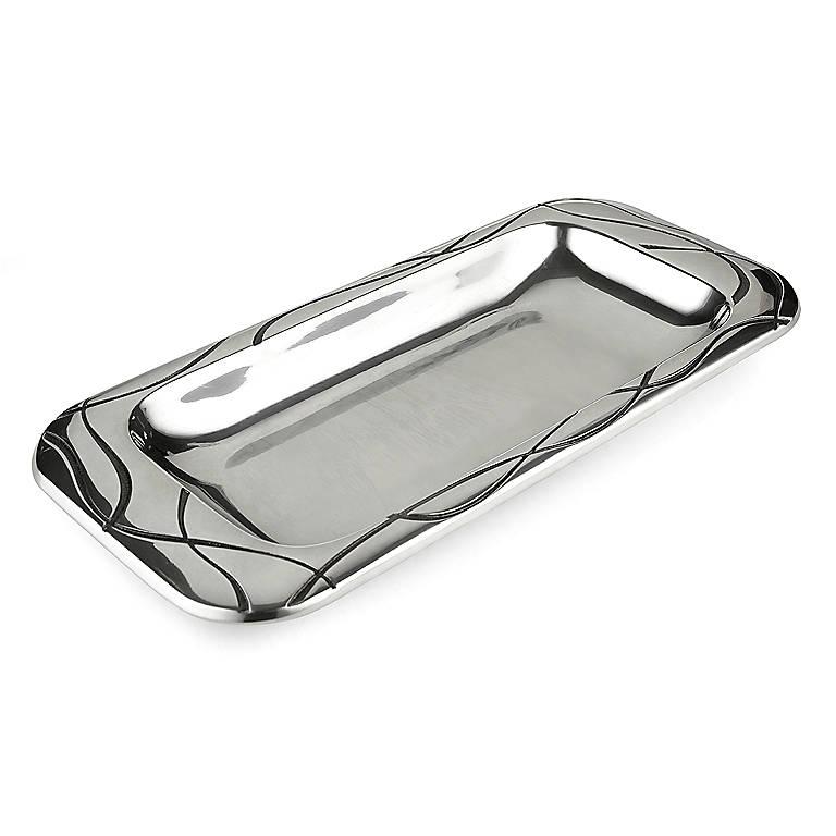 Alternative Metal Vibe Bread Tray by Lenox, Dinnerware Serving Pieces by Lenox