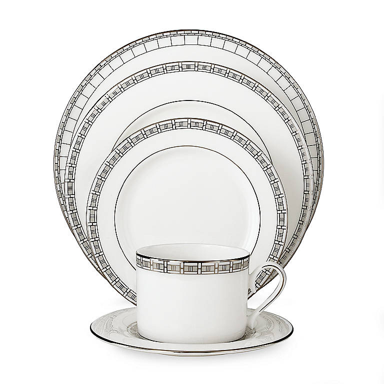 Bone China Timeless 5-piece Place Setting by Lenox, Dinnerware Tableware Dishes and China by Lenox