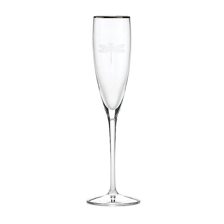 Crystal kate spade June Lane Flute, Dinnerware Tableware Glasses and Mugs by Lenox